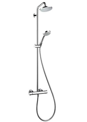 hansgrohe showerpipe croma 160 jara multibouw. Black Bedroom Furniture Sets. Home Design Ideas